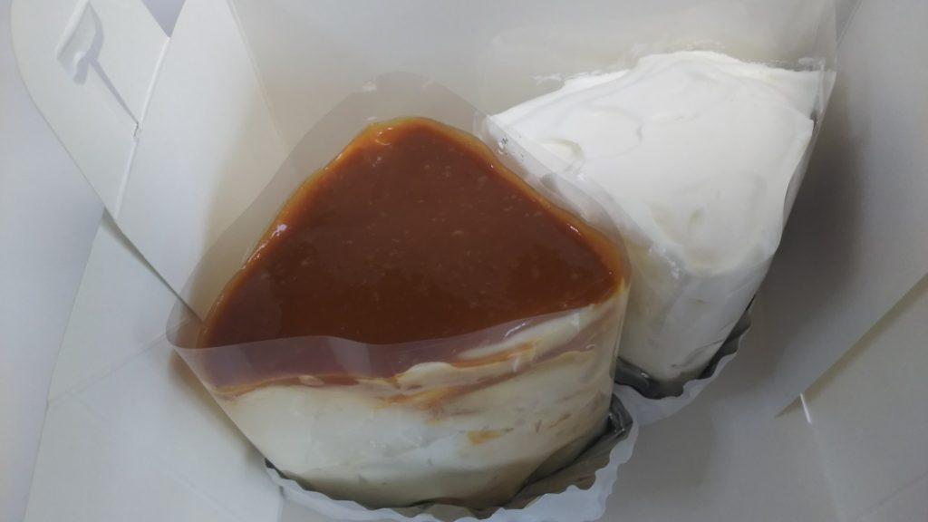 キャラメルと紅茶のシフォンケーキ