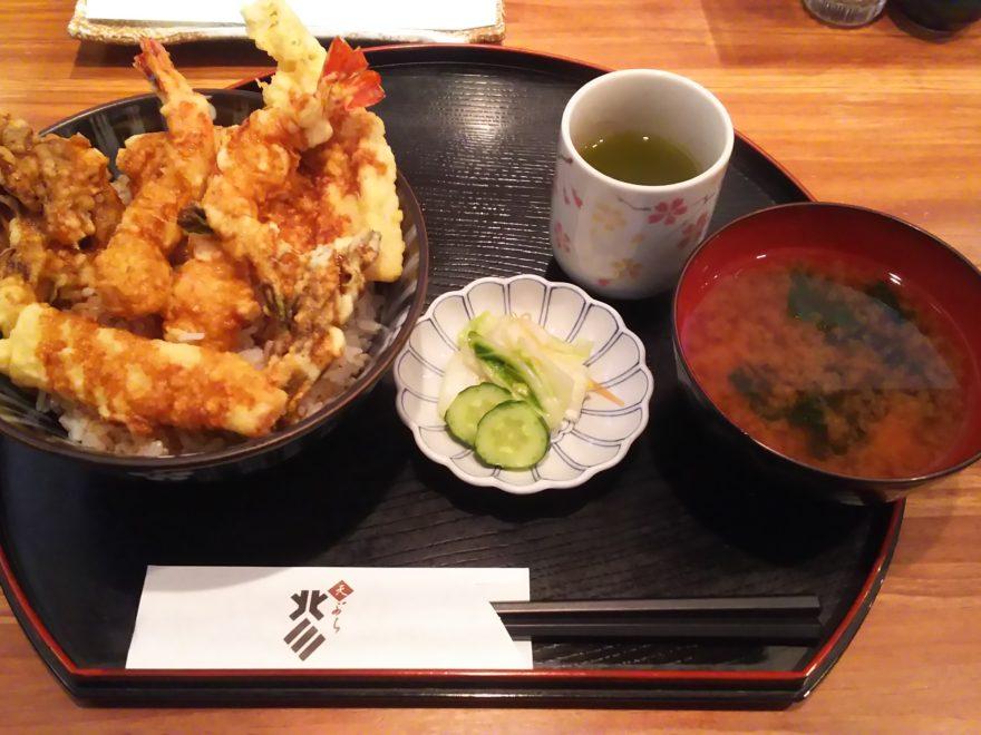天丼(ランチメニュー)
