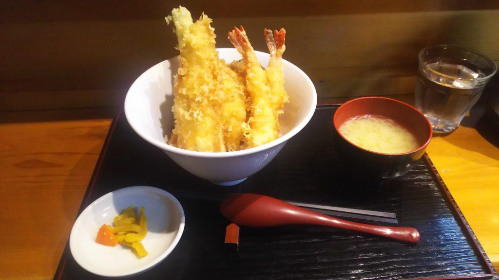 アナゴ丼①