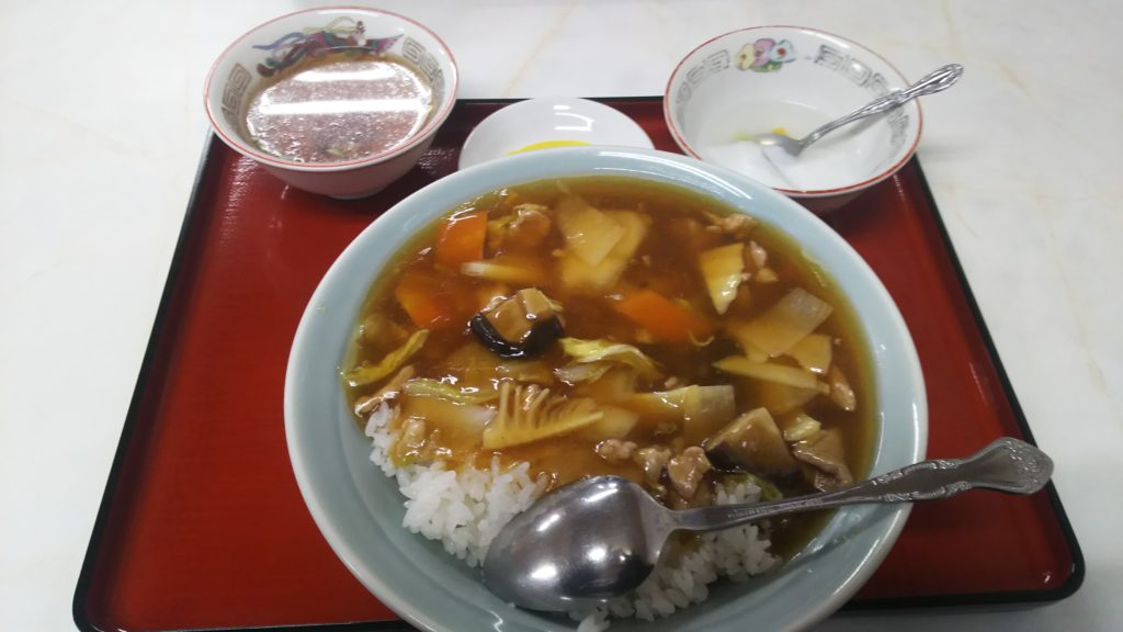 豚肉中華丼