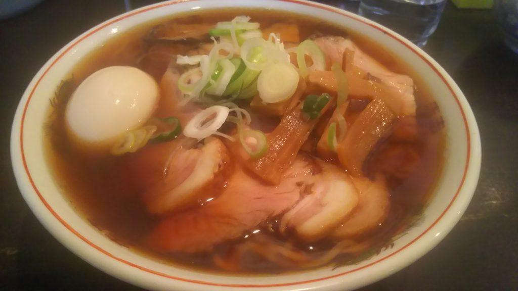 チャーシュー麺大盛り+煮卵