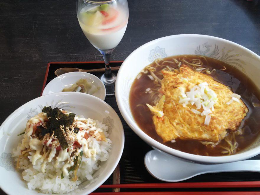 天津麺セット