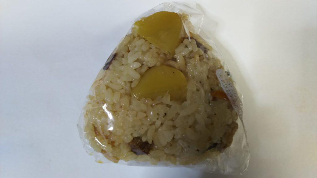 たきこみご飯のおにぎり150円(米八)