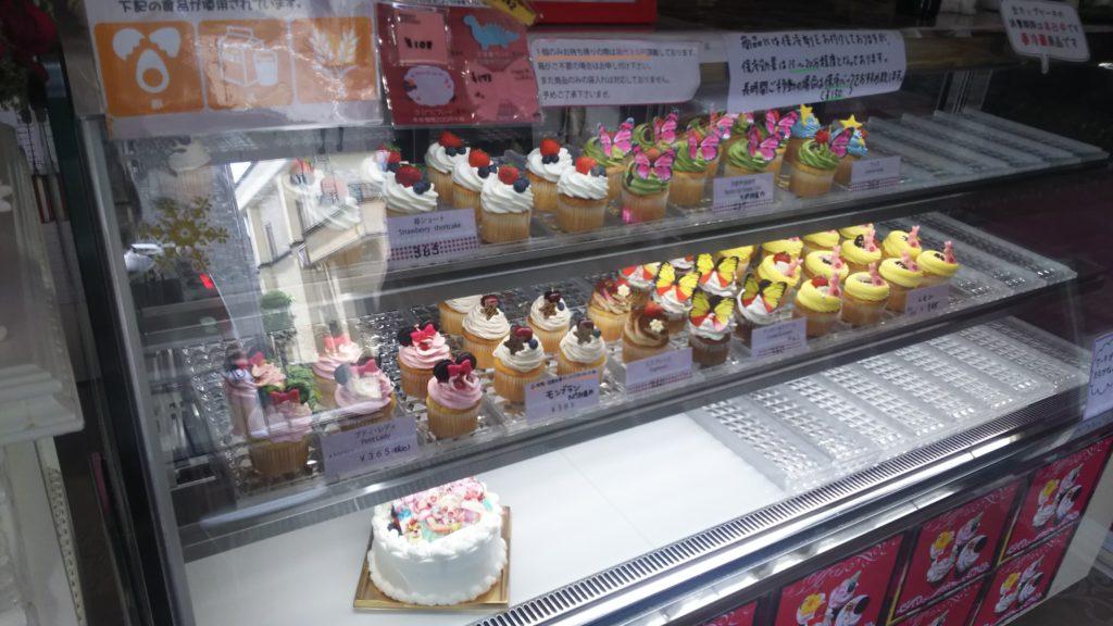 カップケーキ各種