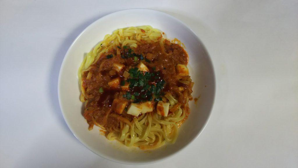 蒙古タンメン中本汁なし麻辛麺①