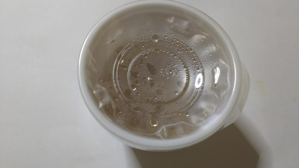 弁当の味噌汁