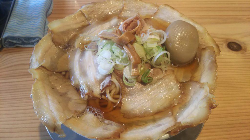 バラそば(大)+煮卵