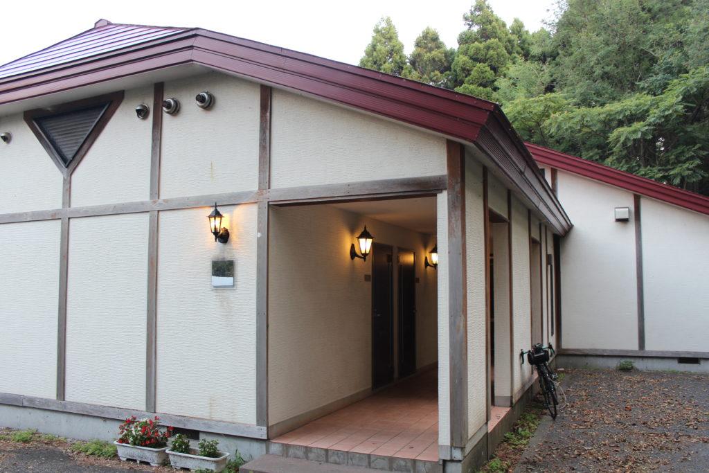 宿泊したゲストハウス入口